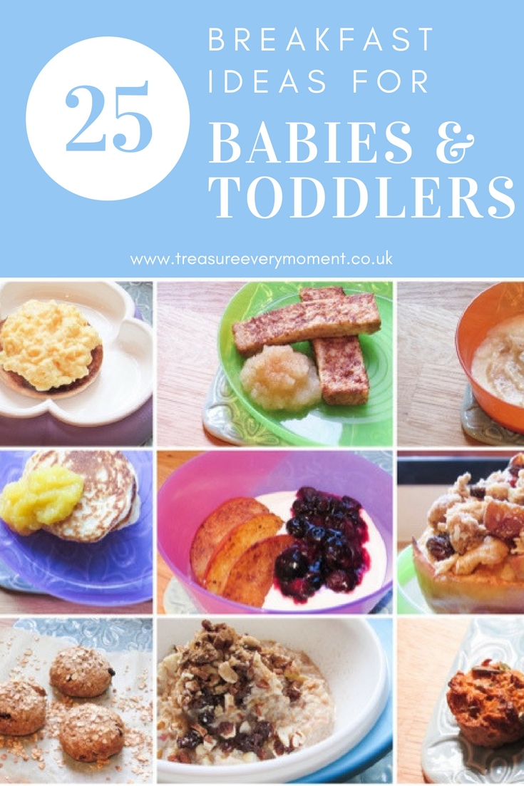WEANING: 25 Breakfast Ideas for Babies and Toddlers