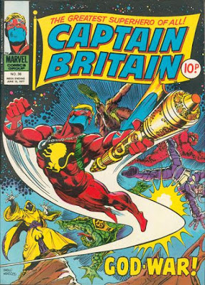 Marvel UK, Captain Britain #36