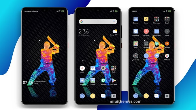 Star Cricket MIUI Theme | The Best Cricket Theme for Xiaomi Devices