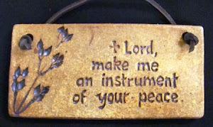 Lord make me an instrument of Your peace