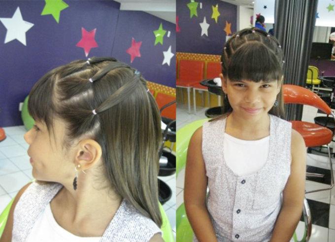 penteado para adolescentes