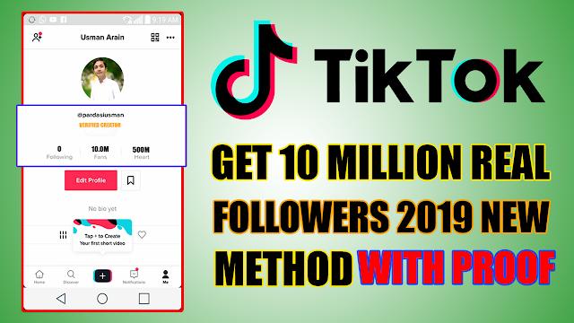 How To Get Tiktok 10 Million Fans In One Click - Apkurdu