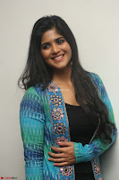 Megha Akash in a beautiful Anarkali dress with Long Jacket at LIE success meet ~  Exclusive Celebrities Galleries 008.JPG