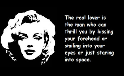 """Marilyn Monroe Quotes About Lover"""