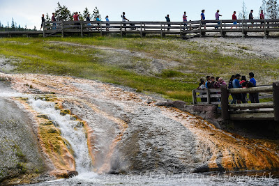 黃石國家公園, yellowstone national park, Midway Geyser Basin