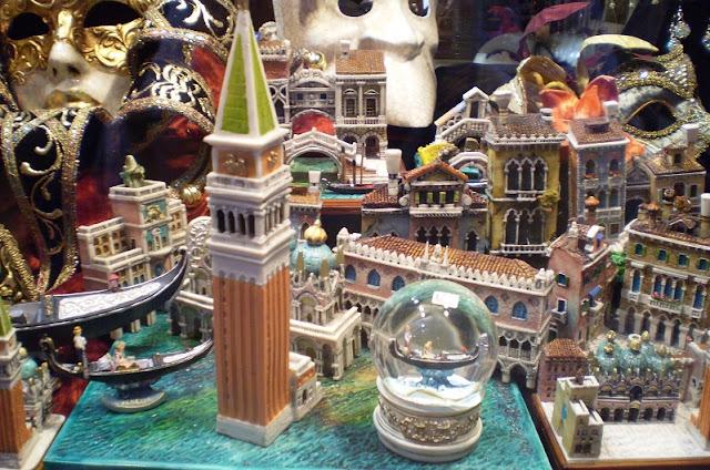 lembrancinhas e souvenirs em Veneza