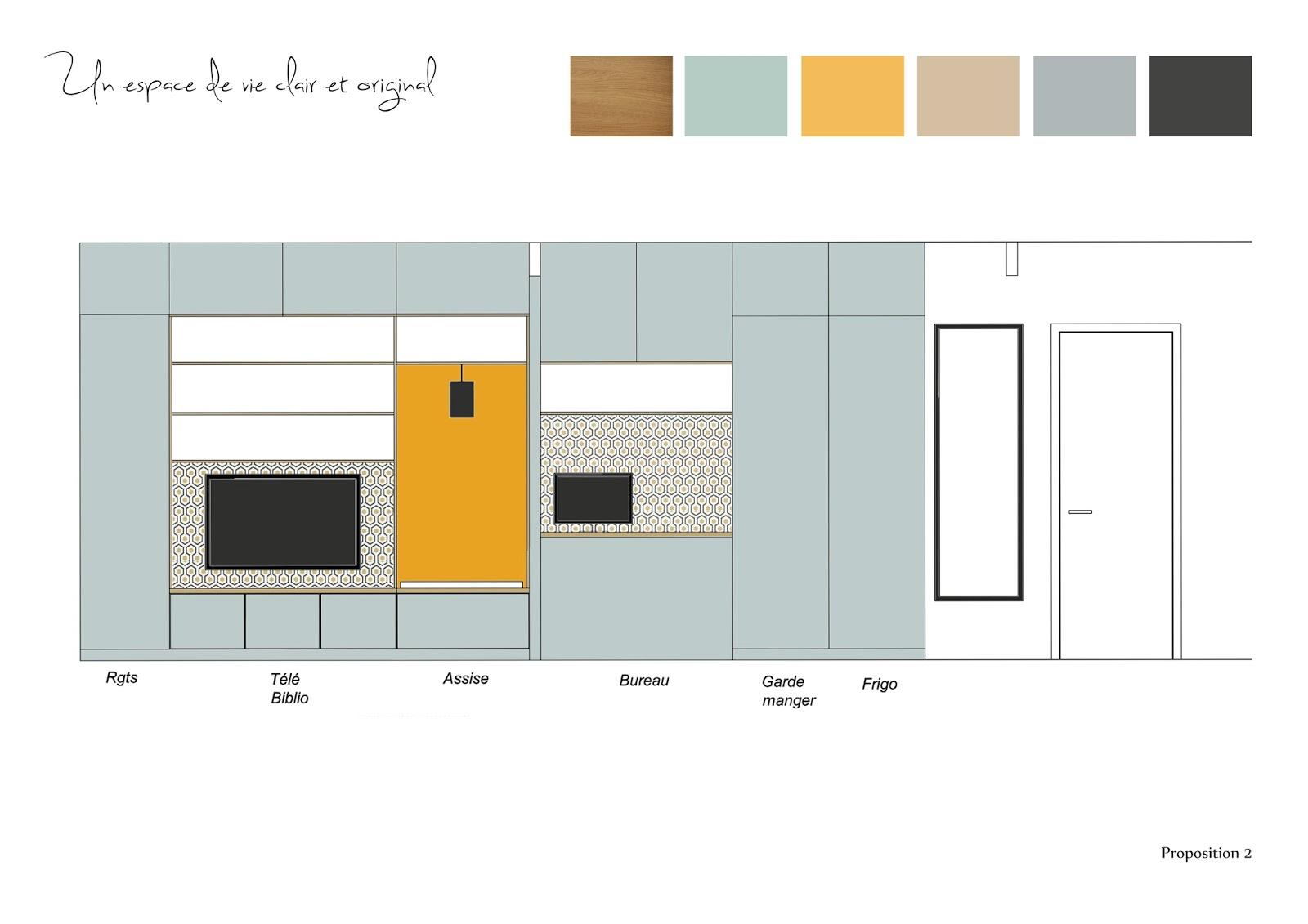 Adc l 39 atelier d 39 c t am nagement int rieur design d for Meuble cuisine sur mesure
