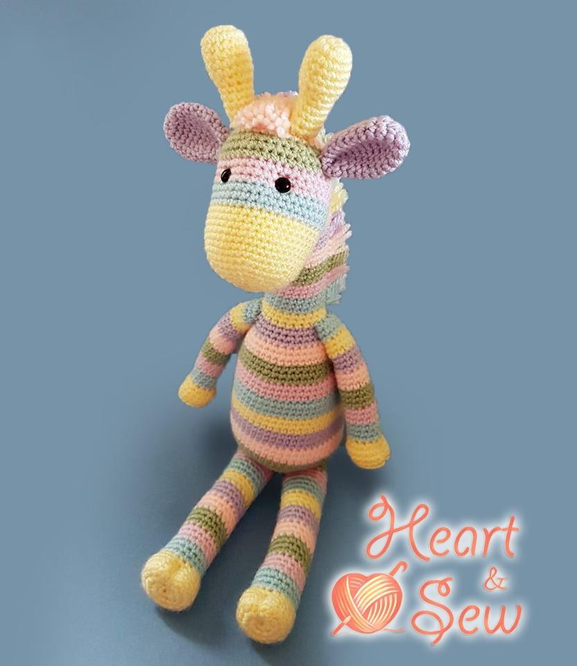 Amigurumi Little Giraffe-FreePattern (Amigurumi Free Patterns ... | 960x832