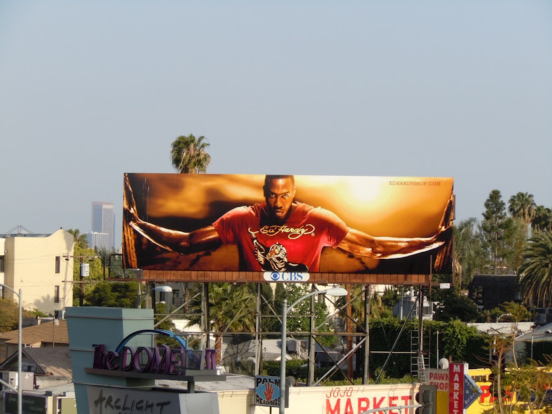 Dwight Howard Ed Hardy billboard