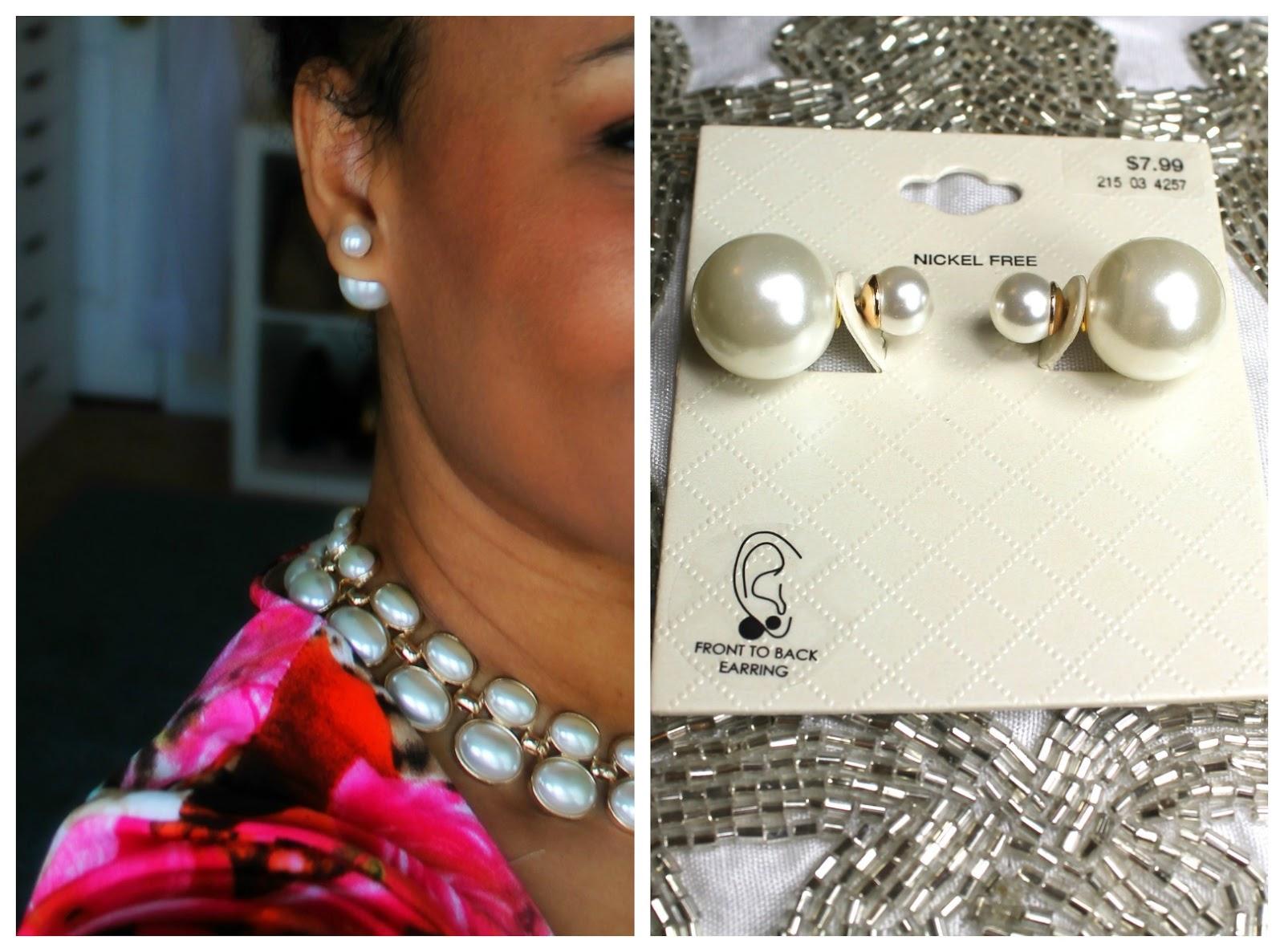 Steal Vs Splurge Dior Double Pearl Earrings