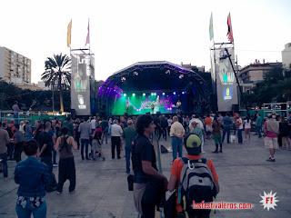Womad Las Palmas de Gran Canaria 2017 -El publico llega al primero concierto