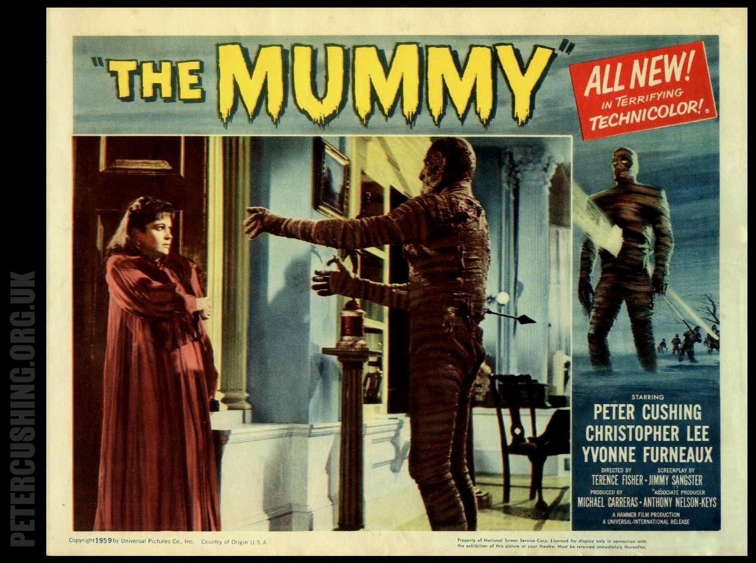 Yvonne Furneaux The Mummy