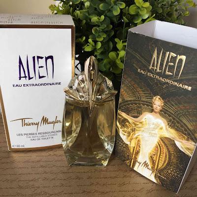 Review : Thierry Mugler Alien EAU Extraordinaire | Melanie's