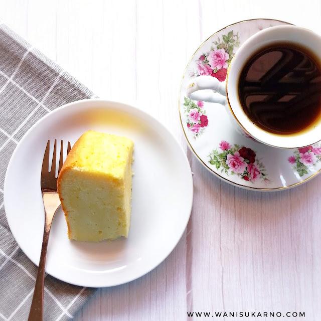 resepi kek lemon yang mudah dan gebu untuk sukatan cawan