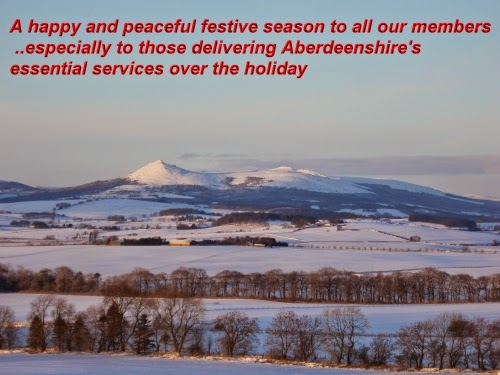 Aberdeenshire UNISON wishes a happy and peaceful festive season to all our members