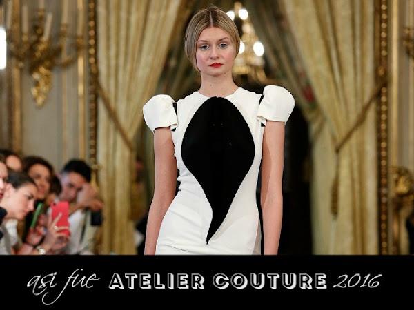 Así fue Atelier Couture 2016