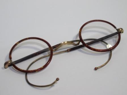 Barang Tempo Doeloe  Kacamata Antik - Bulat 6d4c6dea1c