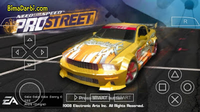 NEED FOR SPEED PROSTREET PSP ISO for Android
