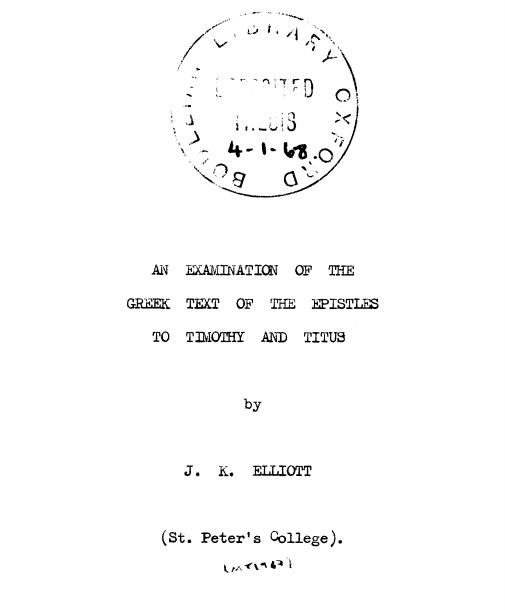 thesis ad doctoratum
