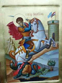 Ιστορική ελληνορθόδοξη μονή στην Συρία προσεύχεται στον Άγιο Γεώργιο και με αυτό τον τρόπο ζητά την βοήθεια του ελληνικού λαού.