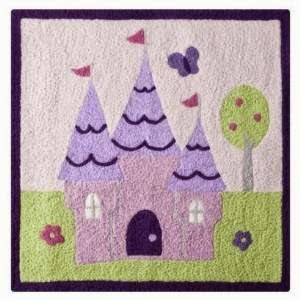Castle Rug for Kids Room