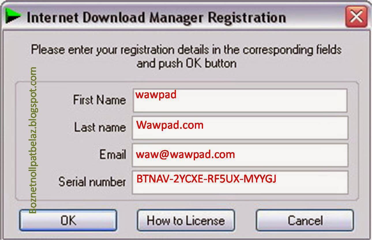 Download Idm Serial Number Crack Internet Download Manager