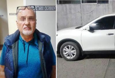 Detienen a hombre en posesión de vehículo robado