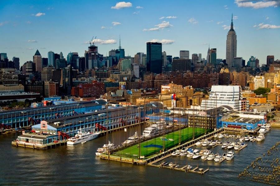 El Chelsea Piers en Nueva York