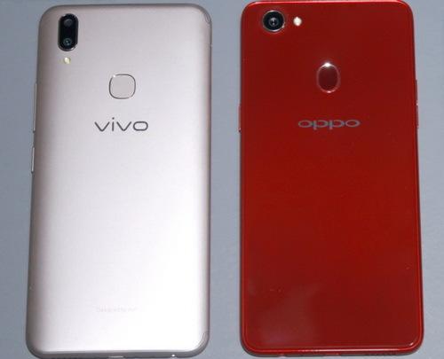 Perbandingan Kamera vivo V9 vs Oppo F7