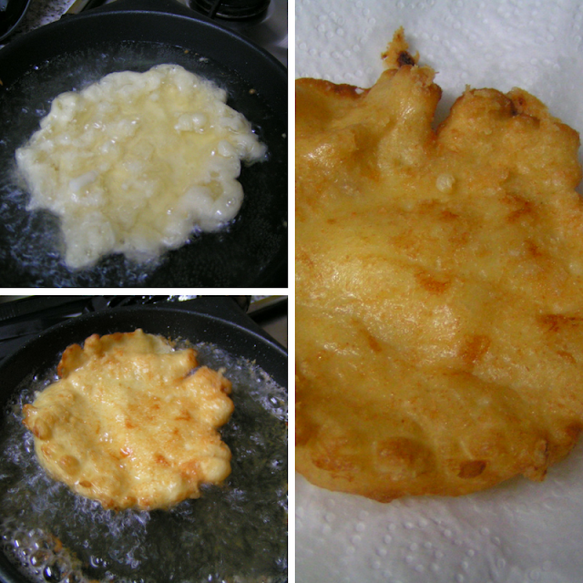 Latkes de queso - Morrico Fino