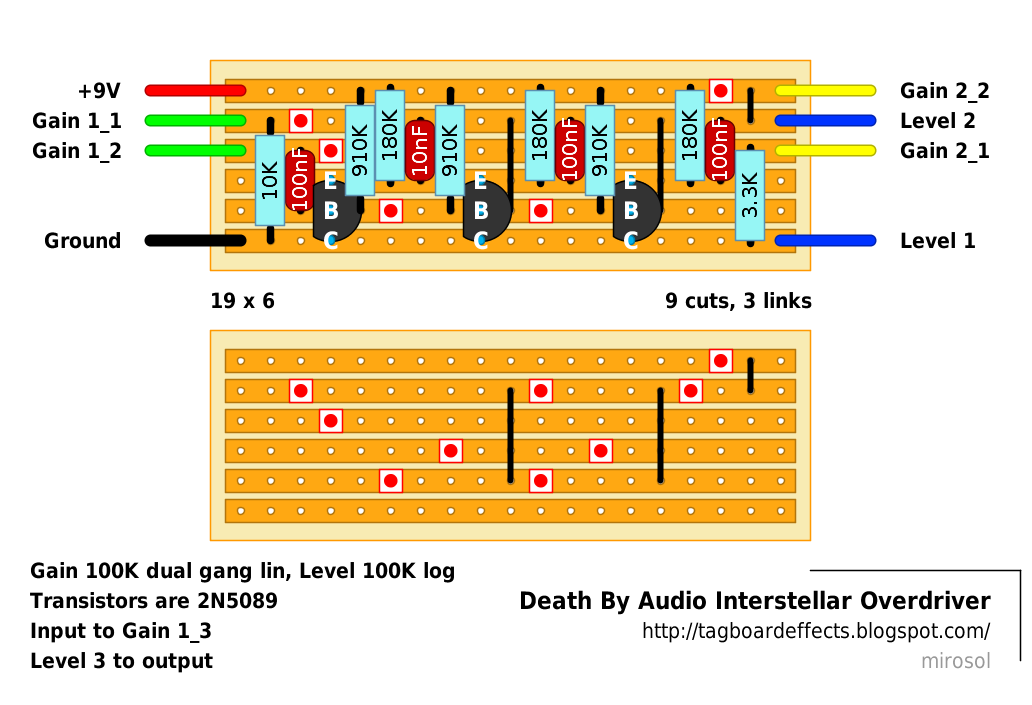 guitar fx layouts death by audio interstellar overdriver. Black Bedroom Furniture Sets. Home Design Ideas