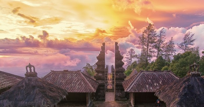 Candi Cetho Bali Nya Jawa Tengah Kaekak