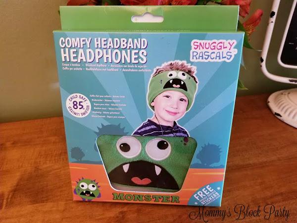 Comfy & Cozy Noise Control: Snuggly Rascals Headband Headphones #MBPSummerFun18