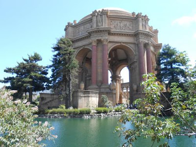 Palace of Fine Arts, sunny day