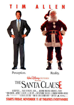 The Santa Clause 1994 BRRip 720p Dual Audio Hindi English ESub