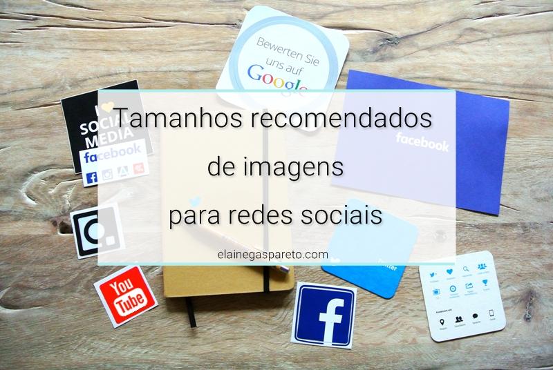 Tamanhos recomendados de imagens para redes sociais