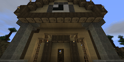 minecraft hall town architecture simplistic least feel say still looks classic does