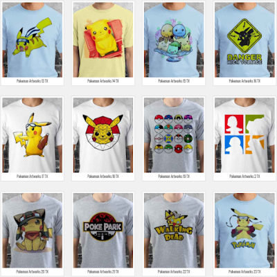 T Shirt Pokemon