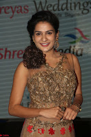 Jenny in brown transparent sleeveless anarkali dress at Shamanthakamani pre release function ~  Exclusive 042.JPG