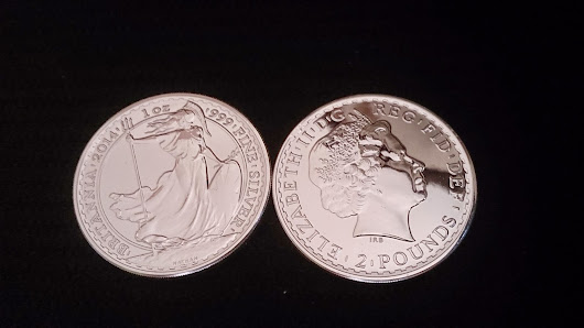2014 Royal Mint Britannia Silver Bullion Coin