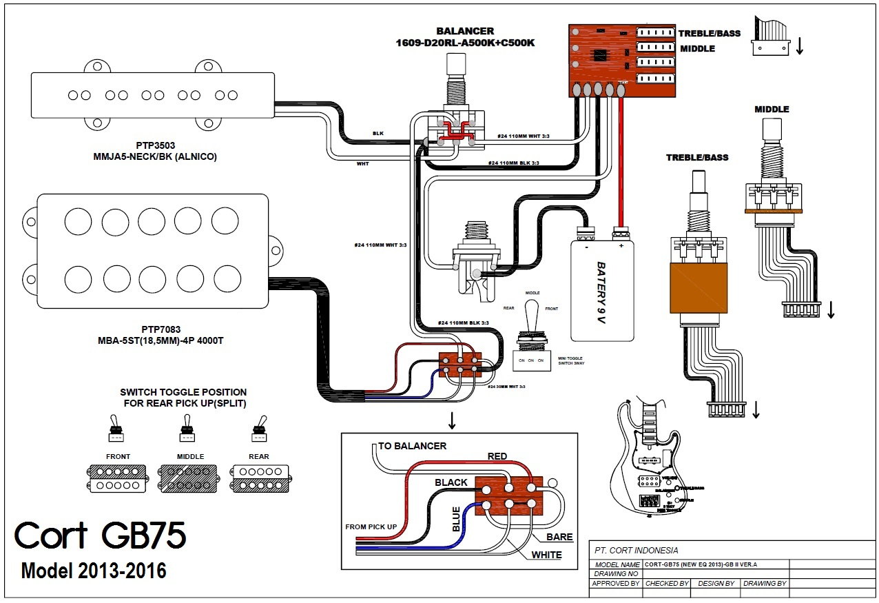 hight resolution of gb pick up wiring schematic wiring diagram autovehicle astorga luthier cort gb75 2013 2016