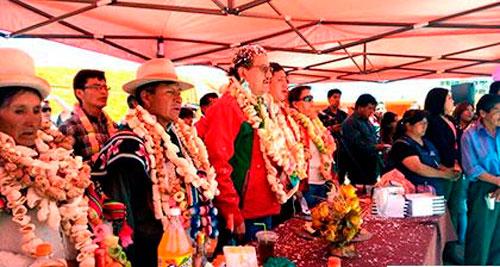 Se inauguró el Calvario en Oruro a una sola voz de rescatar su esencia
