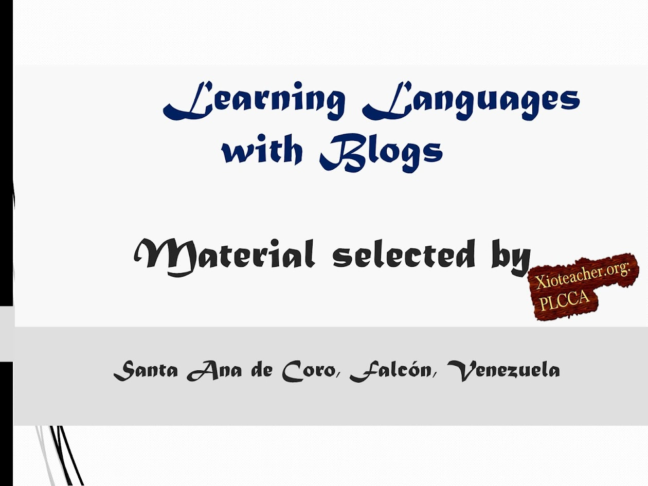 Learning Languages with blogs