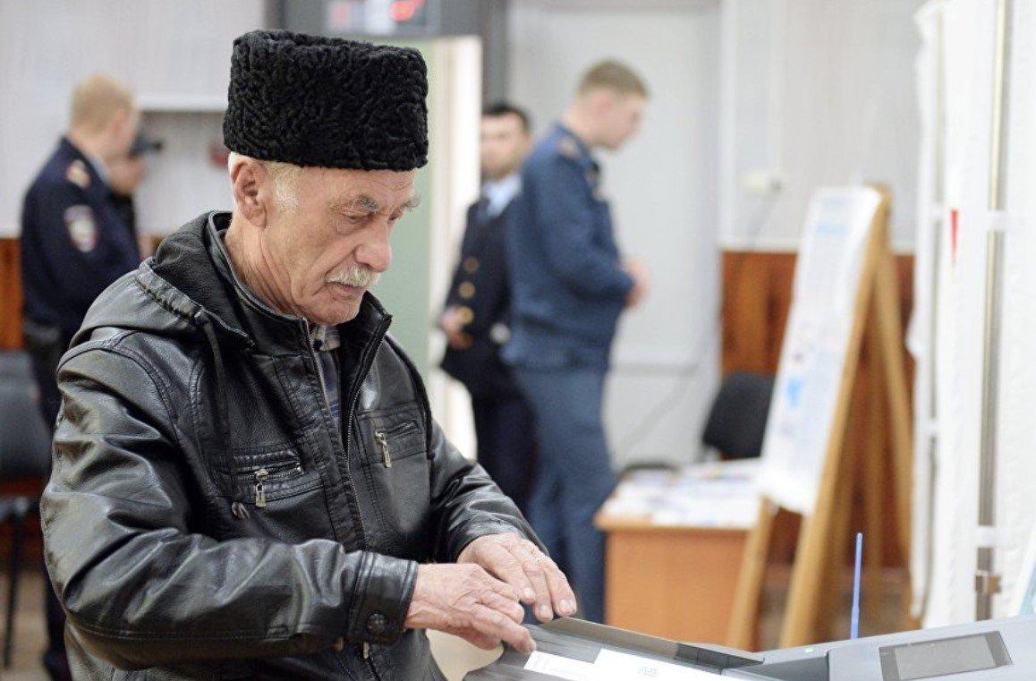 Крымчане не пришли на выборы Путина