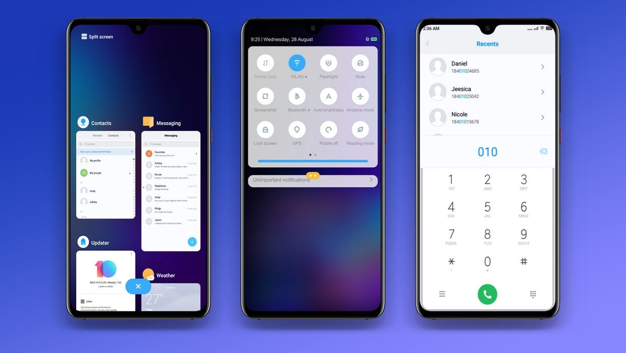 Alpha MIUI 10 Theme Download