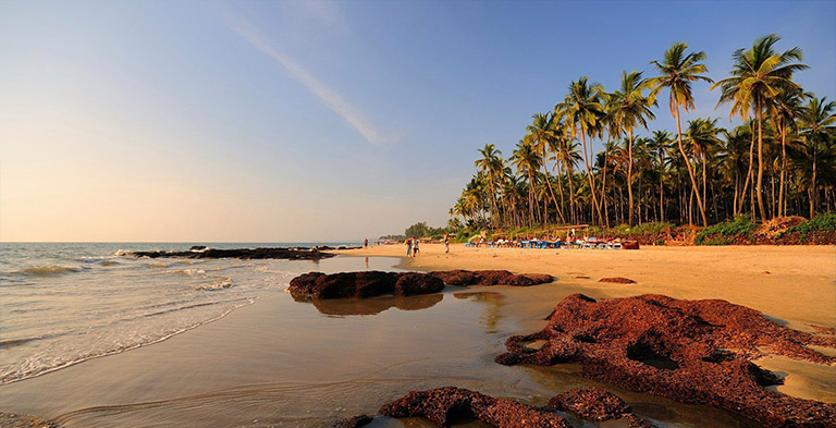 goa, asia beach and seashore tourist attractions