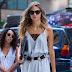Annika Krijt vai as audições para o Victoria's Secret Fashion Show 2017, em Midtown, em Nova York - 17/08/2017