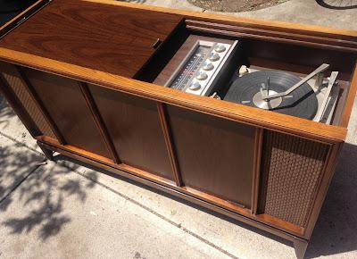 1960s Magnavox Stereo Console / Credenza SOLD