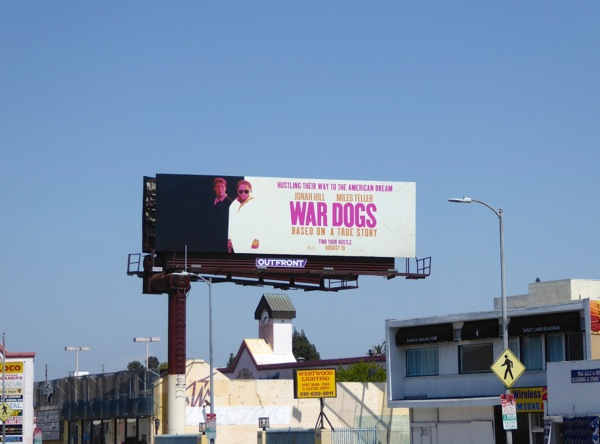War Dogs movie billboard