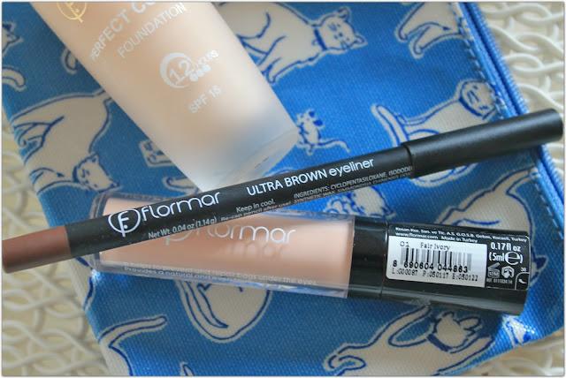flormar ultra brown eyeliner